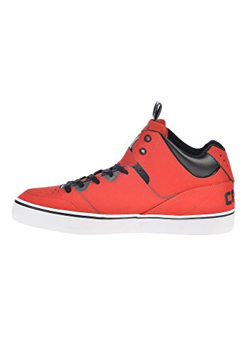 converse New Player Mid LEATHER rot
