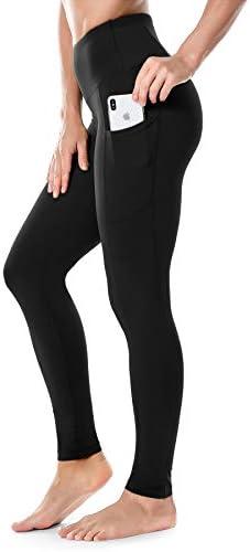 Runwind High Waist Yoga Leggings Pants for Women with Pockets for Women - Workout Leggings Pants Tummy Control Gym Yoga