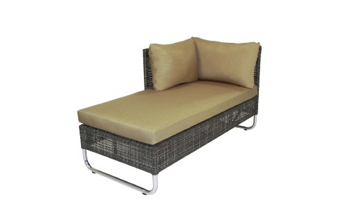 - Outback Company Urban Symmetry Left Facing Kristos Chaise with Cushion and Pillows