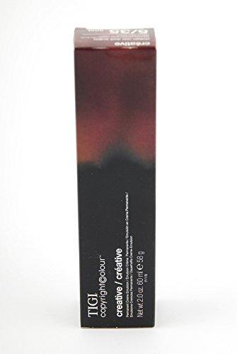 TIGI copyright colour Creative Perm Cream 5/35 Light Golden Mahogany Brown