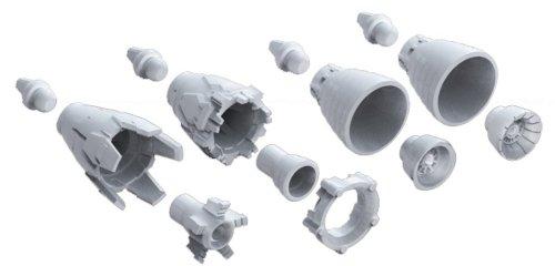 Bandai Hobby MS Vernier 01 1/144 Bandai Builder Parts Action Figure