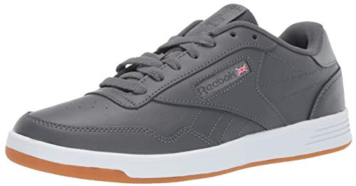 Reebok Men's Club MEMT Sneaker, True Grey/White/Gum, 14 M US (Grey Shoes Retro)