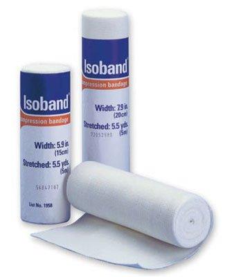Isoband 081116748 Bandage, 15cm x 5M, Case of 50 by Isoband