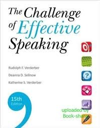 The Challenge of Effective Speaking 15th (fifteenth) edition PDF