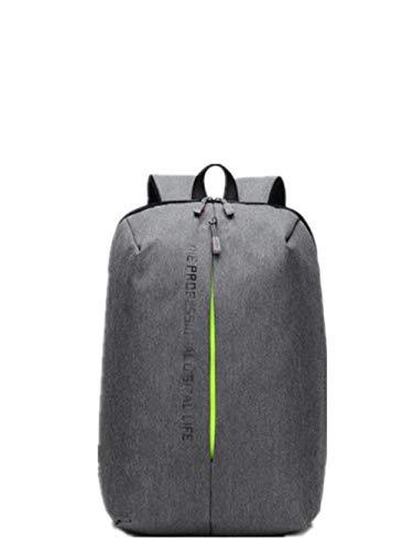Capacità Outdoor Light Moda Viaggi Tempo funzione Libero Uomo Nero Valigeria Laptop Tracolla Grey Multi Grande HZpqw