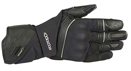 Gore Tex Motorcycle Gloves - Jet Road v2 Gore-Tex Waterproof All-Weather Motorcycle Glove with Gore-Grip Technology (Extra Large, Black)