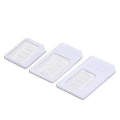 Noosy Nano Adaptador de tarjetas SIM 3 en 1 y Micro SIM ...