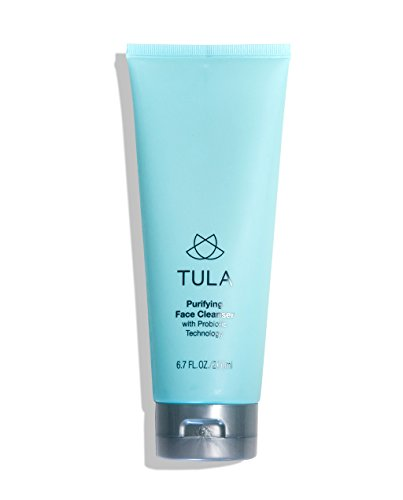 (TULA Probiotic Purifying Face Cleanser | Gentle and Effective Face Wash, Makeup Remover, Nourishing and Hydrating | 6.7 oz.)