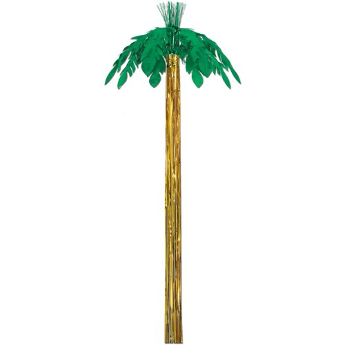Metallic Palm Tree Party Accessory (1 count) -