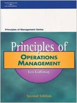 Book Principles of Operations Management (Principles of Management)
