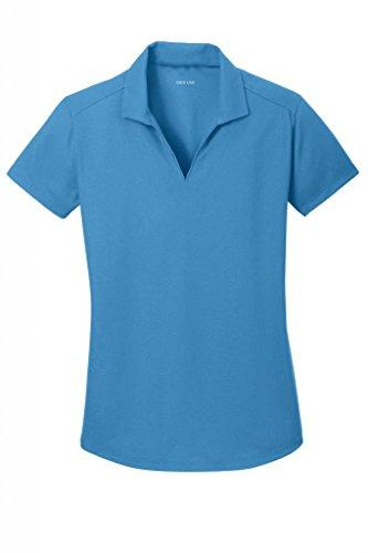 Joe's USA(tm) Ladies Moisture Wicking Textured Golf Polos in 12 - Shirts Team Usa Golf