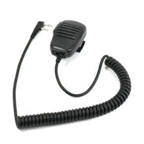 Original Baofeng UV-5R Handheld Speaker Microphone for Dual-band Radio (Black)