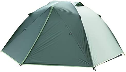 SAFACUS 1-2 Person Backpacking Tent for Outdoor, Lightweight Ultralight Portable Tents for Camping Hiking Mountaineering, Easy Set Up with Compact Folding Aluminum Poles