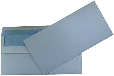 High Quality Dl Plain 100gsm White Envelopes Peel And Self Seal Strong Paper