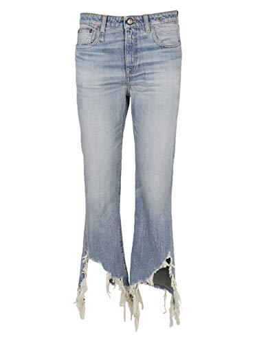 W001956141j Cotone Jeans Azzurro R13 Donna ECgwACq