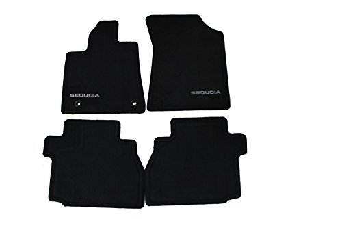 Genuine Toyota Accessories PT926-0C120-20 Carpet Floor Mat for Select Sequoia Models (Toyota Fj Cruiser Custom Mats)