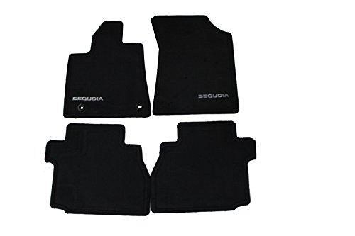 Genuine Toyota Accessories PT926-0C120-20 Carpet Floor Mat for Select Sequoia Models (Toyota Fj Cruiser Custom Mats)