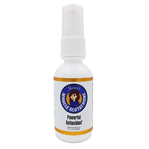 Mimi's Miracle Glutathione Spray, Extremely Effective Instant Absorption Delivery via nano technology. Better than pills, powders and capsules. Extra Strength, Fast Acting, Most Potent Formula Yet.