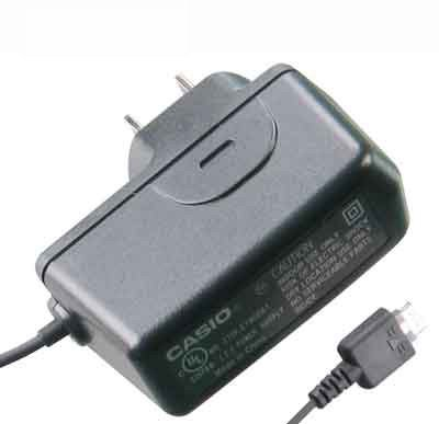 Casio OEM (Original) AC Wall Power Adapter Home Charger (Chocolate Type)