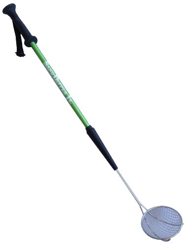 Sand Dipper Jr - Long Handle Back Saver Hygienic Cat Litter Scoop ()
