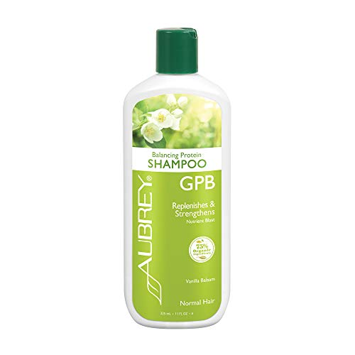 - Aubrey GPB Balancing Protein Shampoo, Aloe & Shea Butter, 11oz