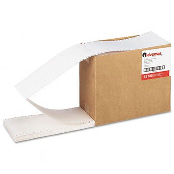 Universal® Continuous-Feed Index Cards CARD,INDEX,FAN,1W,3X5,WE HDC-3 (Pack of2)