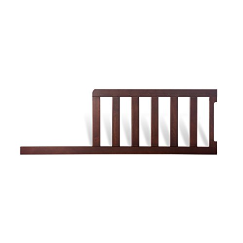 Child Craft Toddler Guard Rail for Mini Convertible Crib, Rich Java