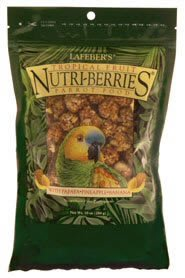 """Brand New Lafebers Tropical Fruit Nutri-Berries Parrot 10oz """"Sale Lafeber – Specialty Foods"""", My Pet Supplies"""