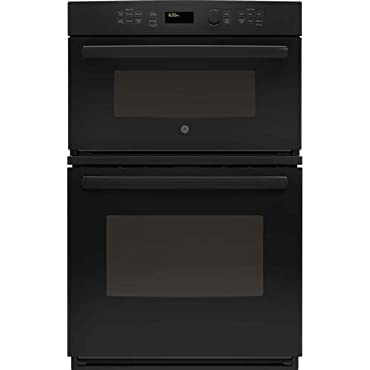 GE JK3800DHBB 27 Black Electric Combination Wall Oven