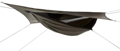 Hennessy Hammock Jungle Explorer Zip - Lightweight Camping and Survival Shelter for Hikers, Boy Scouts, Preppers, Soldiers, Military Units, Explorers, Scientific and Medical Expeditions. ()