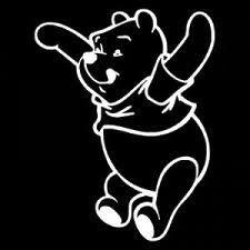 Winnie The Pooh Jumping Disney Vinyl Car