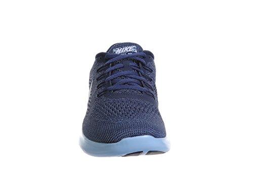 Nike Mens Free Rn Blu Notte / Bianco / Blu / Blu / Blu Tinta Nylon Scarpe Da Corsa 8,5 M Us