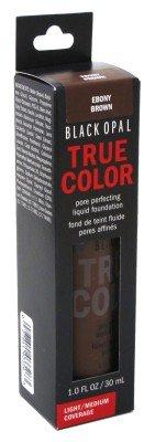 Black Opal True Color Liquid Foundation Ebony Brown 1oz (2 Pack)
