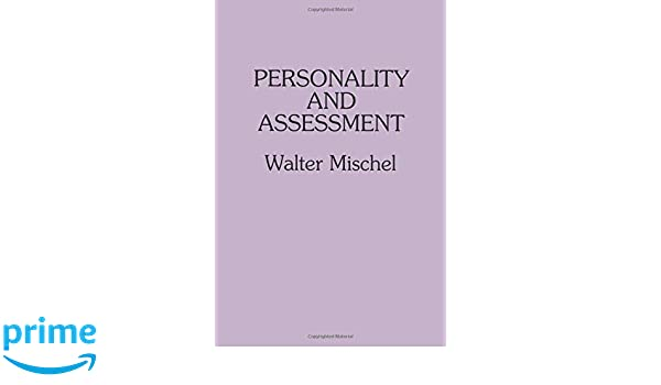 Amazon com: Personality and Assessment (9780805823301