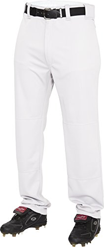 Rawlings Men's Semi-Relaxed Pants, Medium, White