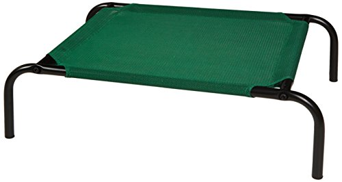 AmazonBasics Elevated Cooling Pet Bed - Small (Bed For Small Pet)