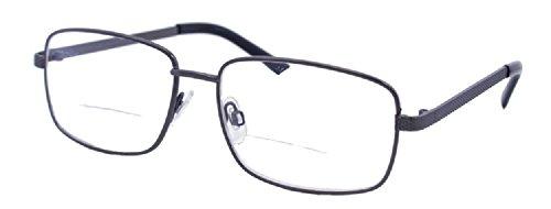The Browline Clear Bifocal Reading Glasses - Bronze - Glasses Browline Prescription