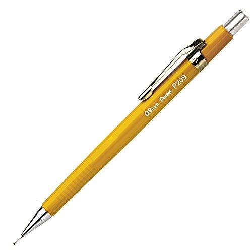 Lapiseira clip móvel amarela unid
