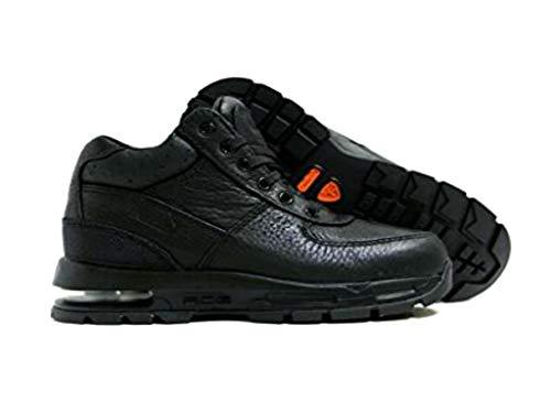 Nike Air Max Goadome Little Kids Style Shoes 311568, Black/Black-Metallic Silver, 2.5