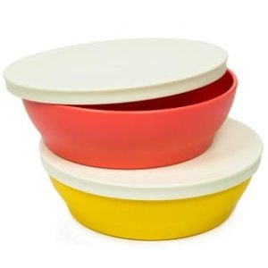 Tupperware Zen Plastic Round Bowl, 550ml  Multicolour    Set of 2