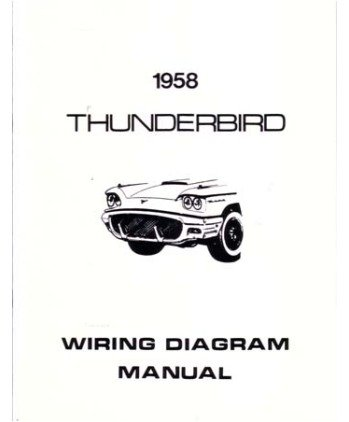 amazon com 1958 ford thunderbird wiring diagrams schematics automotive rh amazon com 1958 ford fairlane wiring diagram 1958 ford fairlane wiring diagram