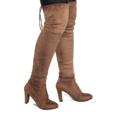c180ad566bc9 Handmade Above Knee Fashion Spring Autumn Woman Boots Fashion Thigh High  Heel Boots Sexy Over the