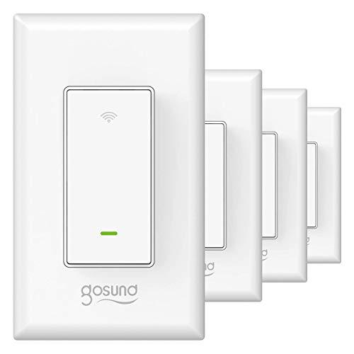 Gosund Smart Light Switch, in-Wall WiFi Smart