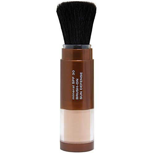 Mineral Fusion Brush-On Sun Defense, SPF 30, UVA and UVB Protection, No Parabens, Gluten Free, Vegetarian, No Phthalates, Hypo-allergenic | ⭐️ Exclusive