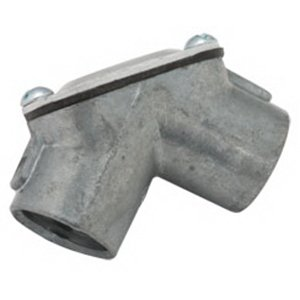 Image of Hubbell Electrical/RACO 2663 Connector 3/4 Inch NPSM Hub Die-Cast Zinc Cylindrical Connectors