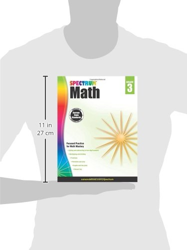Math Worksheets 3rd grade free math worksheets : Spectrum Math Workbook, Grade 3: Spectrum: 0044222238544: Amazon ...