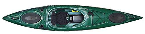 Riot Kayaks Enduro 12 Angler Kayak, Forest Green by Riot Kayaks