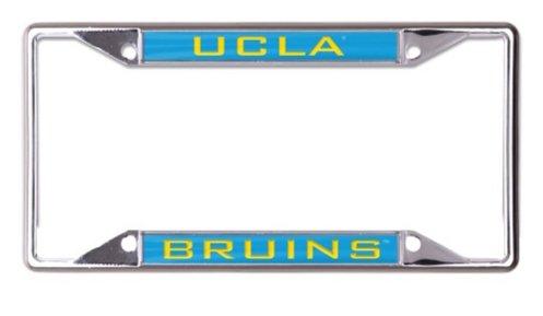 WinCraft NCAA UCLA Bruins California Los Angeles 6 x 12 Inlaid Acrylic/Metal License Plate Frame