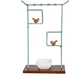NIKKY HOME Bird Jewelry Stand Tabletop Necklace Holder