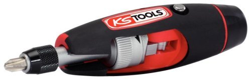 KS Tools 911.2475  T-handle ratchet bit screwdriver, 1/4' 1/4 4042146208656